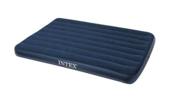 the intex 68758e airbed features a soft waterproof flocked top the top of the mattress sits 8 34 inches from the floor and supports up to 600 lbs - Airbeds