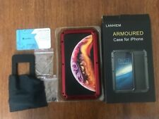 Lanhiem Cover iPhone XS Max,Cover Antiurto