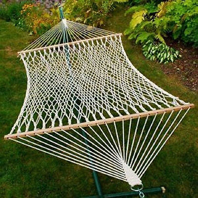 the algoma 4902c is a classic two point double size cotton rope hammock  it features three ply twisted all natural cotton rope  it has an overall length of     top 5 algoma hammocks   ebay  rh   ebay