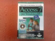 Corso su cd-rom di access 7 per windows 95