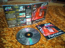 Street fighter alpha plus playstation 1 ps1 psx completo 1a edizione