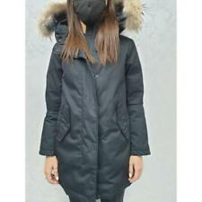 Cappotto donna woolrich ner volpe