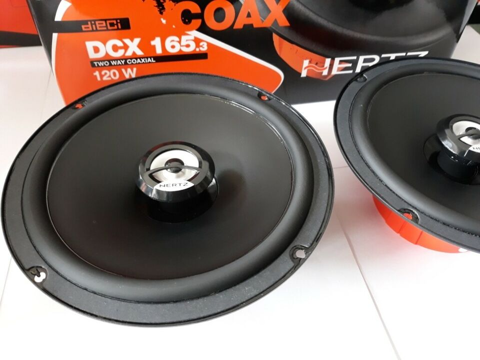 Altoparlanti hertz dcx 165.3 car audio torino in...