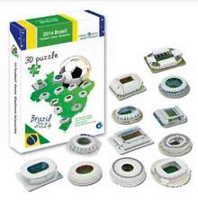 Puzzle 3D Paiper Brazil Football Game Stadium