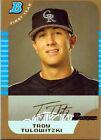Rookie Troy Tulowitzki Single Baseball Cards