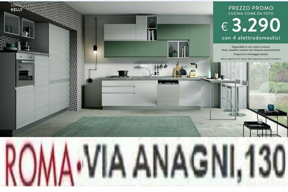 CUCINA KELLY rinnovo esposizione-VIA ANAGNI ,130- cucine a roma