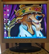 "Monitor LCD Acer 17"" mod. AL1715s"