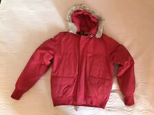 Piumino Woolrich rosso