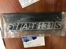 Scritta fregio posteriore Fiat 131 S - 131