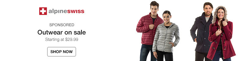 Alpine Swiss Outerwear Sale. Starting at $29.99