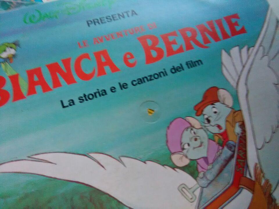Walt Disney LIBRO + DISCO 33 Giri , DISNEYLAND 5