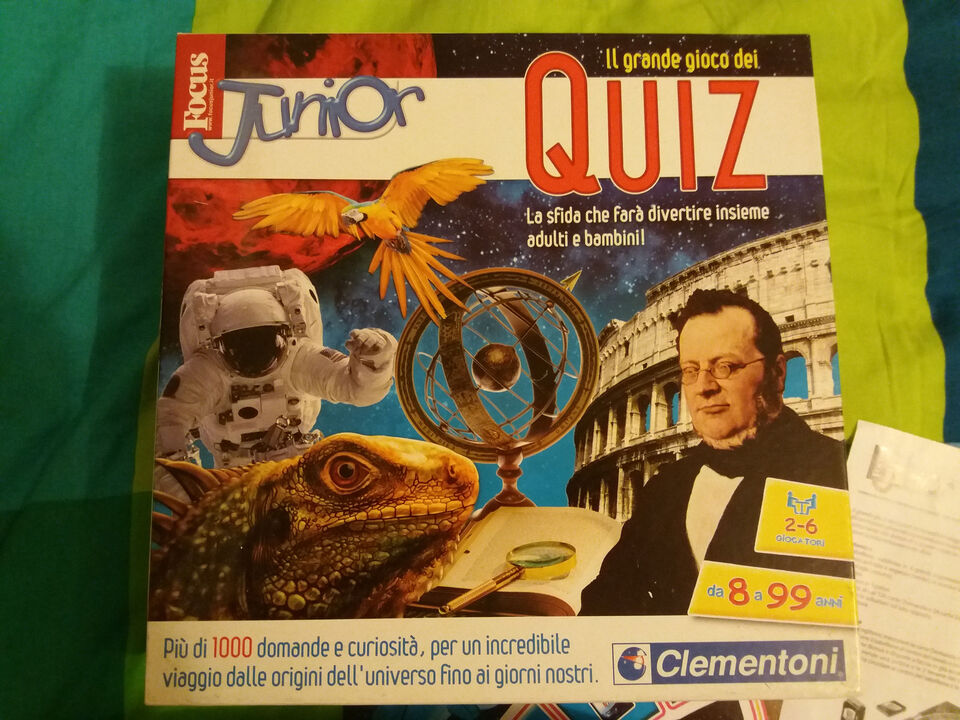 Focus junior quiz