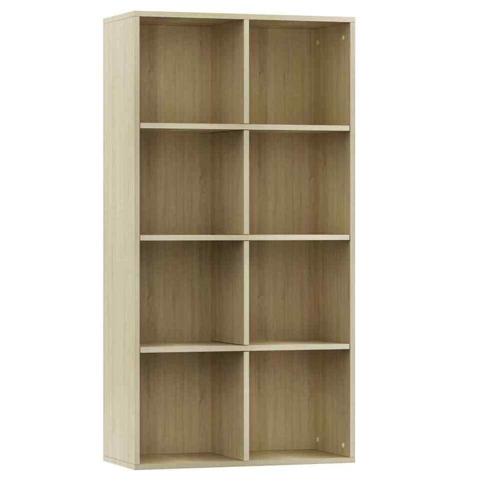 Libreria/Credenza Quercia di Sonoma 66x30x130 cm in Truciolato 2