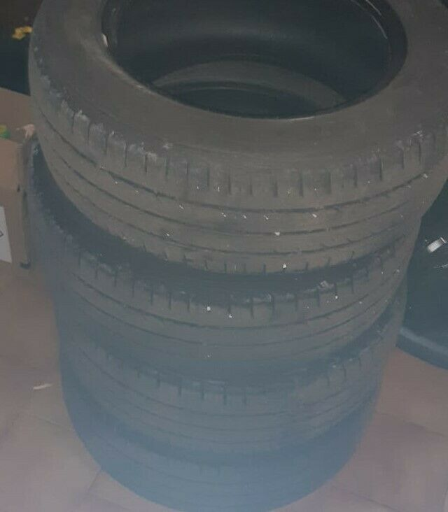 4 gomme - usate 50% - 205/60 R15 91H M+S