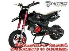 MINIMOTARD NITRO hobbit nuovo - Mini moto cross quad 49cc