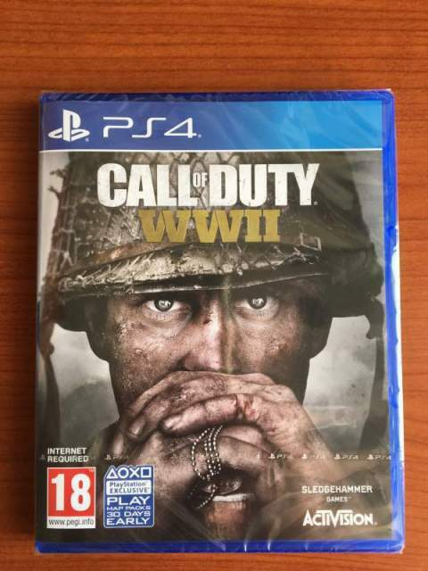 Call of Duty WWII nuovo sigillato