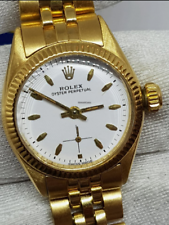 Rolex Oyster Perpetual Lady 18kt oro solido