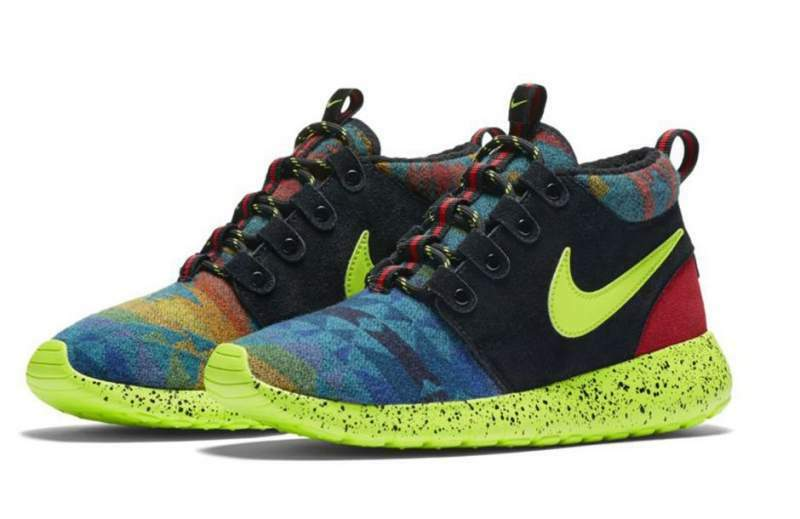 Nike rosche one mid winter pend gs pendleton 40 nuove