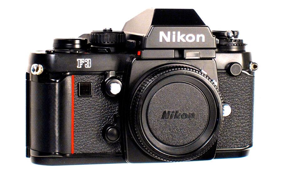 Nikon F3 Vs  Canon T90Nikon F3