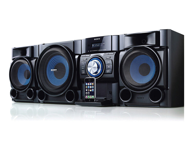 top 5 sony stereo systems ebay. Black Bedroom Furniture Sets. Home Design Ideas