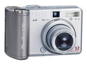 Canon PowerShot A70 3.2 MP Digital Camer...