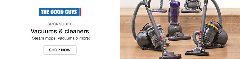 Steam mops, vacuums & more!
