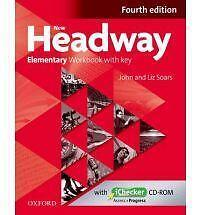 New Headway: Elementary A1-A2: Workbook: The World's Most Trusted English+CD ROM