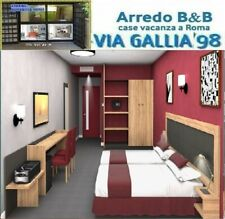 "Arredo hotel a roma- camera ysae 3- BED BREAKFAST "" B&B"