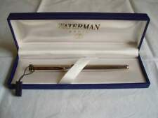 Penna Roller Waterman placcata argento