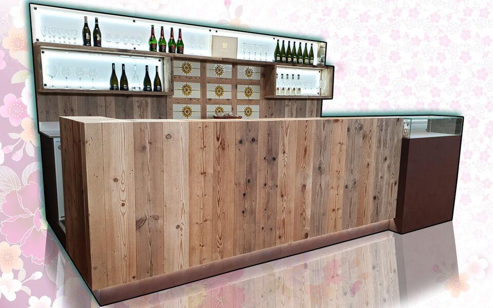 Bancone bar completo usati e fiera campionaria su misura 2