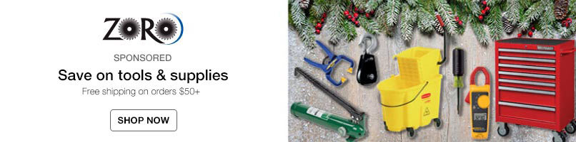 Holiday savings on tools & supplies