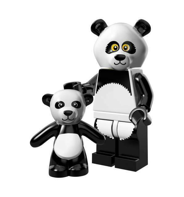 Lego Minifigures - Lego Movie - Panda Guy