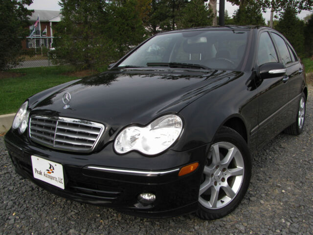 07 mercedes c280 4matic awd 66k miles black warranty we for Mercedes benz c280 4matic