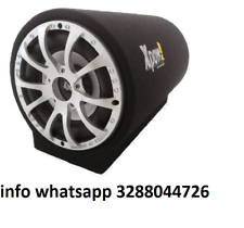 Subwoofer auto attivo amplificato tunnel bass box 1400 watt