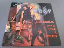 "W.A.S.P. Live Animal F Like A Beast 12"" UK 1988"
