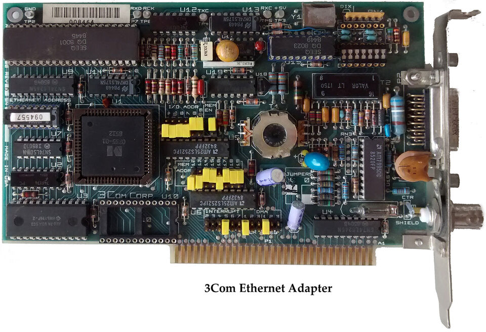 Schede vintage usate per PC XT/AT (1) 2