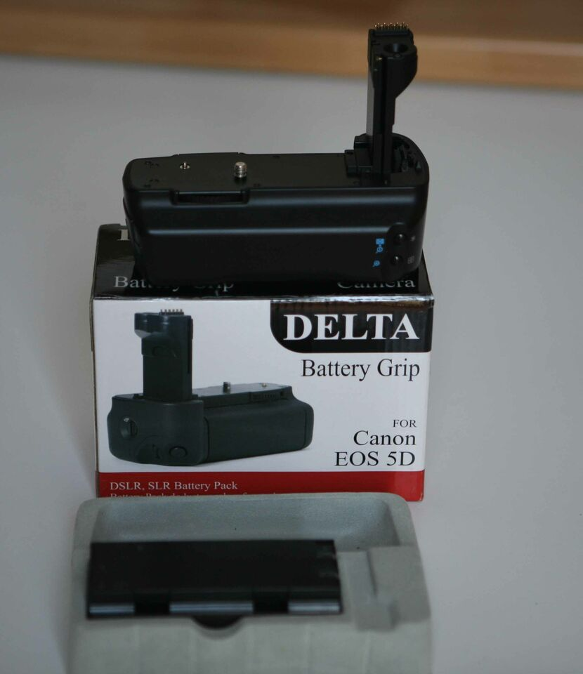 Battery pack Delta per canon EOS 5D
