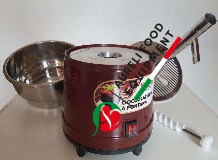 Fontana per cioccolato/colatrice e temperatrice manuale cf 2105 3
