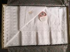 Completo matrimoniale bianco in cotone