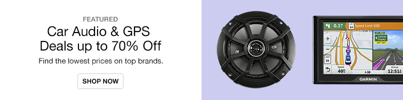 Car Audio & GPS Deals up to 70% Off