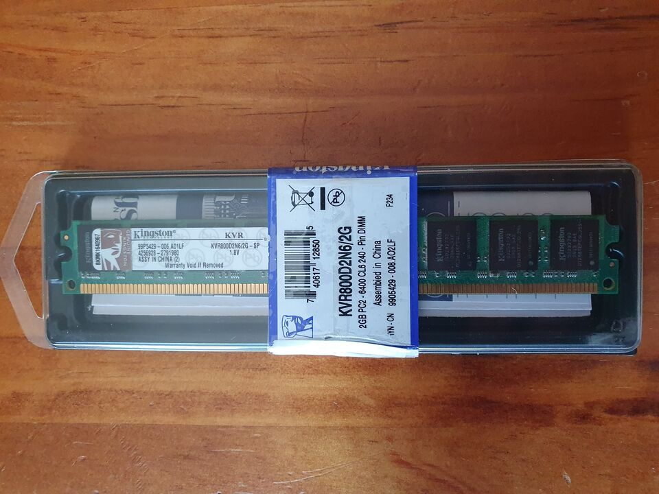 Ram Kingston KVR800D2N6/2G
