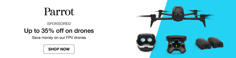 Up to 35% off on drones