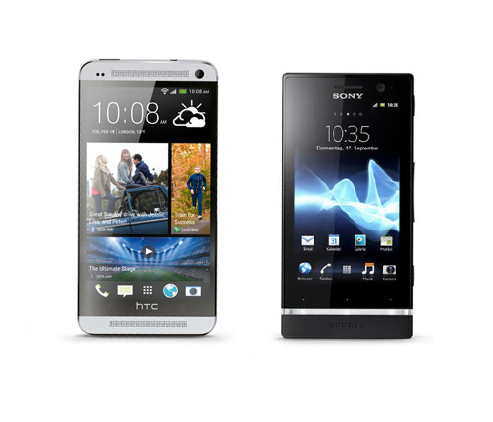 Sony Xperia vs. HTC One