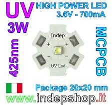 LED UV 425nm 3W - REEF - Acquario