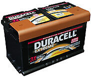 Batteria auto Duracell starter advanced ed extreme
