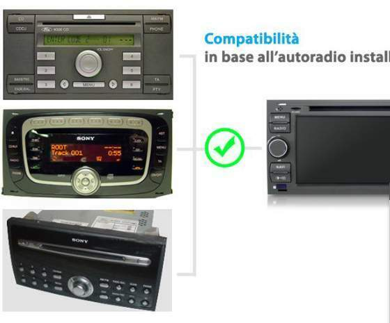 Autoradio Specifico x Vari modelli Ford..!