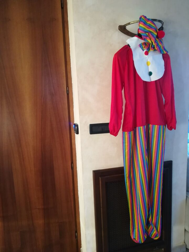 Vestiti carnevale clown