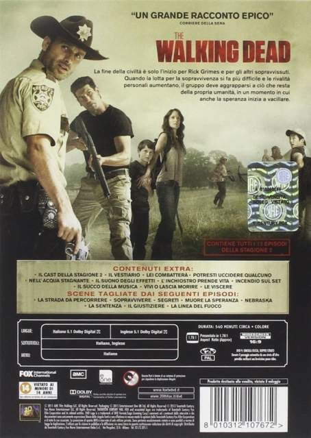 The walking dead - Stagione 2 - DVD 2