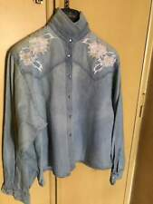 Giacca Camicia jeans BENETTON. Unisex.