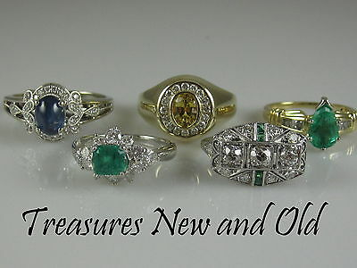 Jewelry Treasures New and Old